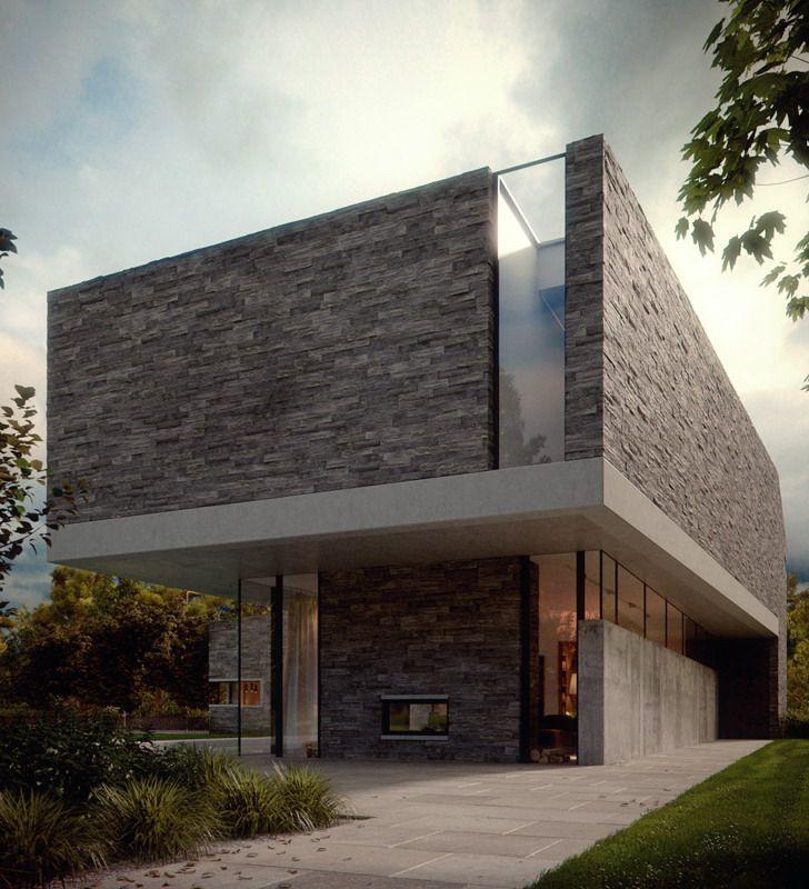 rumah+minimalis.jpg (728×800) & rumah+minimalis.jpg (728×800) | wall | Pinterest | Stone walls ...