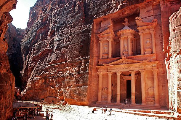 Petra... and it was in Indiana Jones!