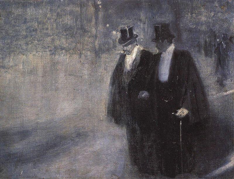 Serafino Macchiati. Aprés le Gala. 1905.