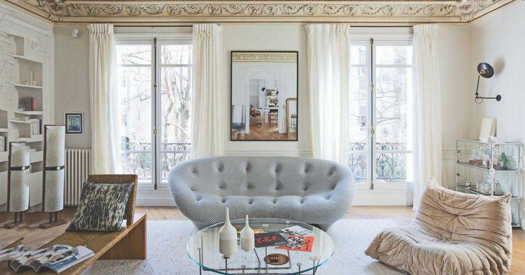 ... Reimagined Furniture #16   A Reimagined Inherited Apartment In Paris    Elle Decoration ...