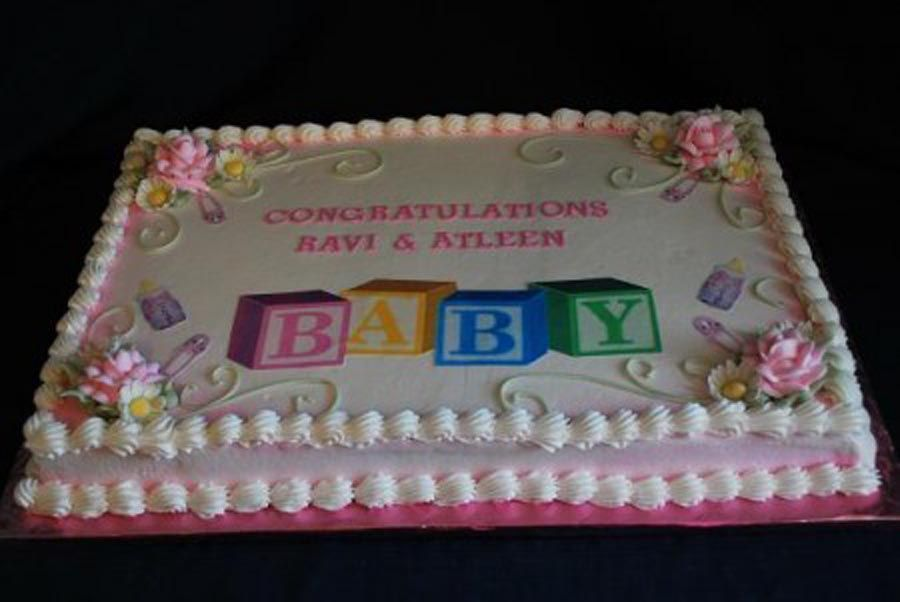 Baby Shower Ideas | Baby Shower Sheet Cake Ideas For Girls
