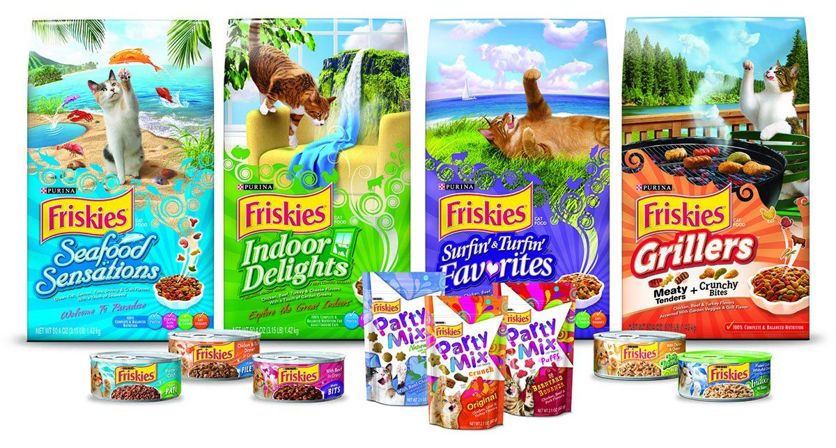 Friskies Party Mix Cat Treats Beachside Crunch 16ounce Pouch Pack Of 1 You Can Get More Details By Clicking On The Imag Canned Cat Food Friskies Dry Cat Food