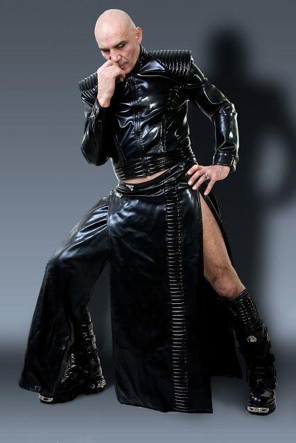 latex fashion Mens