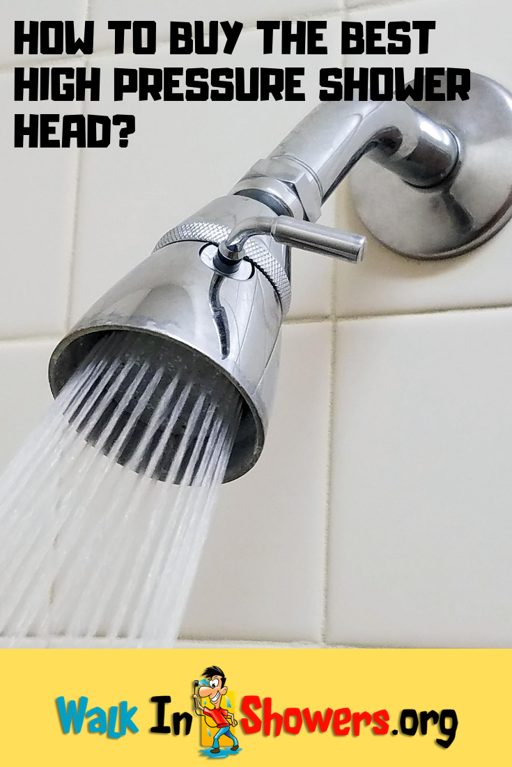 How To Buy The Best High Pressure Shower Head High Pressure