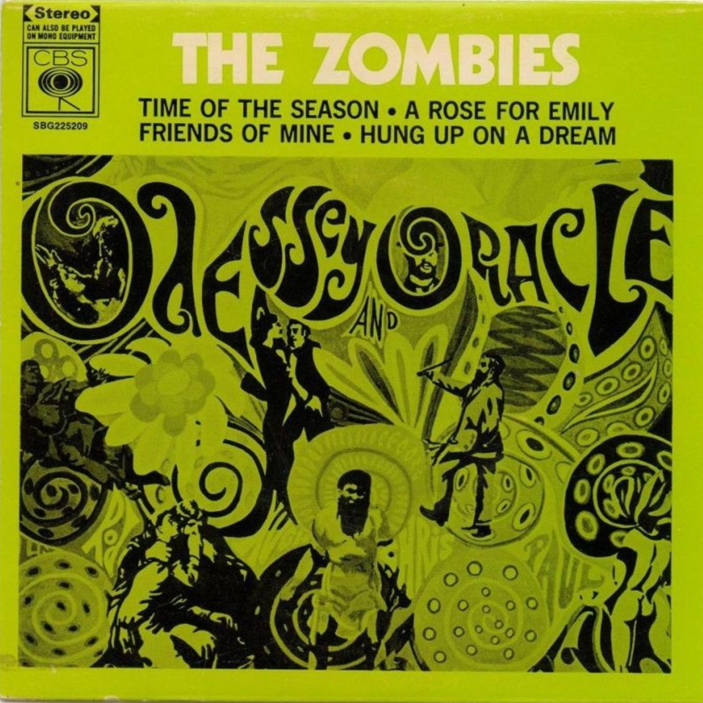 The Zombies Ep Cover Rock Musica Y Timbres