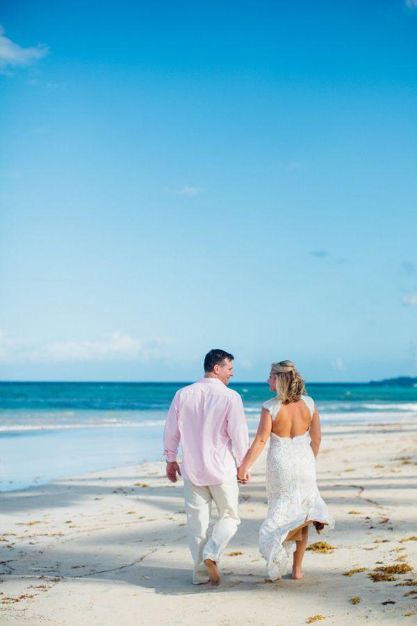 Families Gorgeous Dominican Republic Destination Wedding