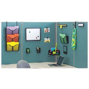Amazing Office Cubicle Hanging Shelves