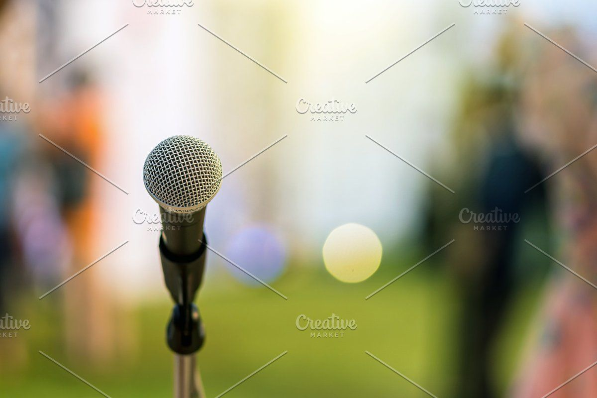 Photo of Microphone on the stage over the Abs #Sponsored , #AFFILIATE, #blurred#photo#Abs…