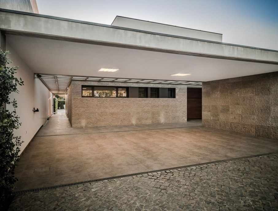 Jazzy contemporary residence displaying opulent interior excellent house design of vilamoura with grey colored floor which is made fr also rh pinterest