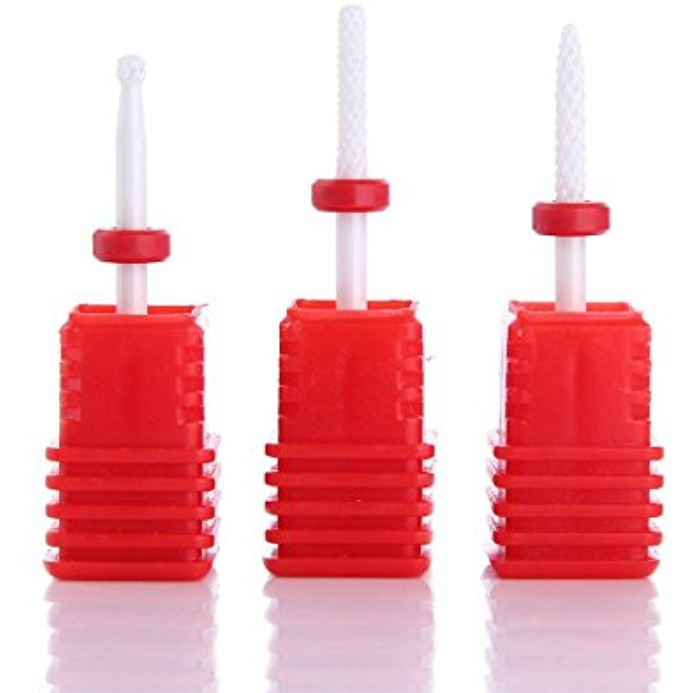 Makartt Ceramic Cuticle Nail Drill Bits Set Professional Electric ...