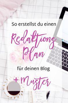 Wie Du einen Redaktionsplan für deinen Blog erstellst + Beispiel - Madmoisell DIY Blog über Deko, Mode und Wohnen