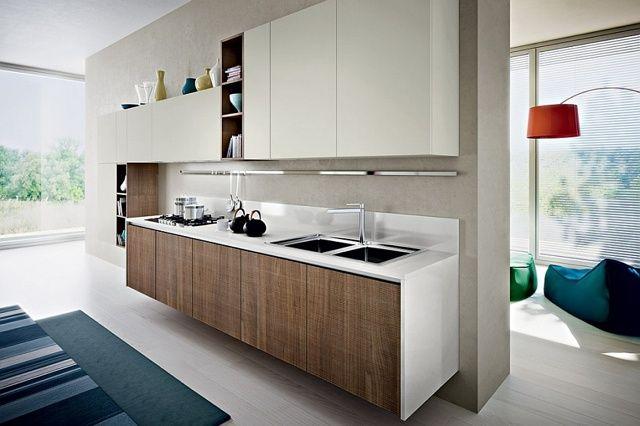 Bella cucina minimalista con design ecologico di Pedini #bella ...