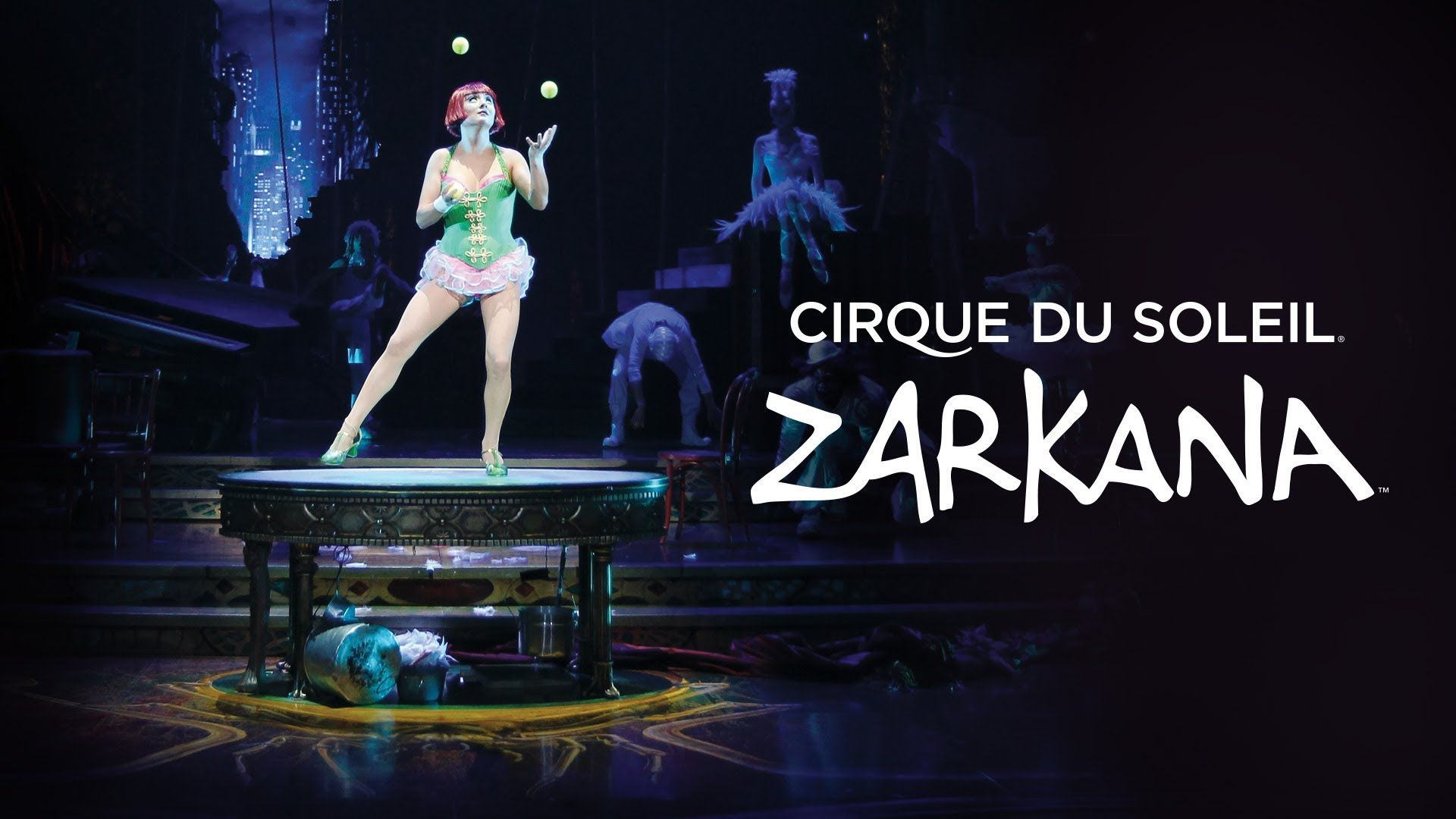 Zarkana From Cirque Du Soleil Official Preview 90 Sec Neat
