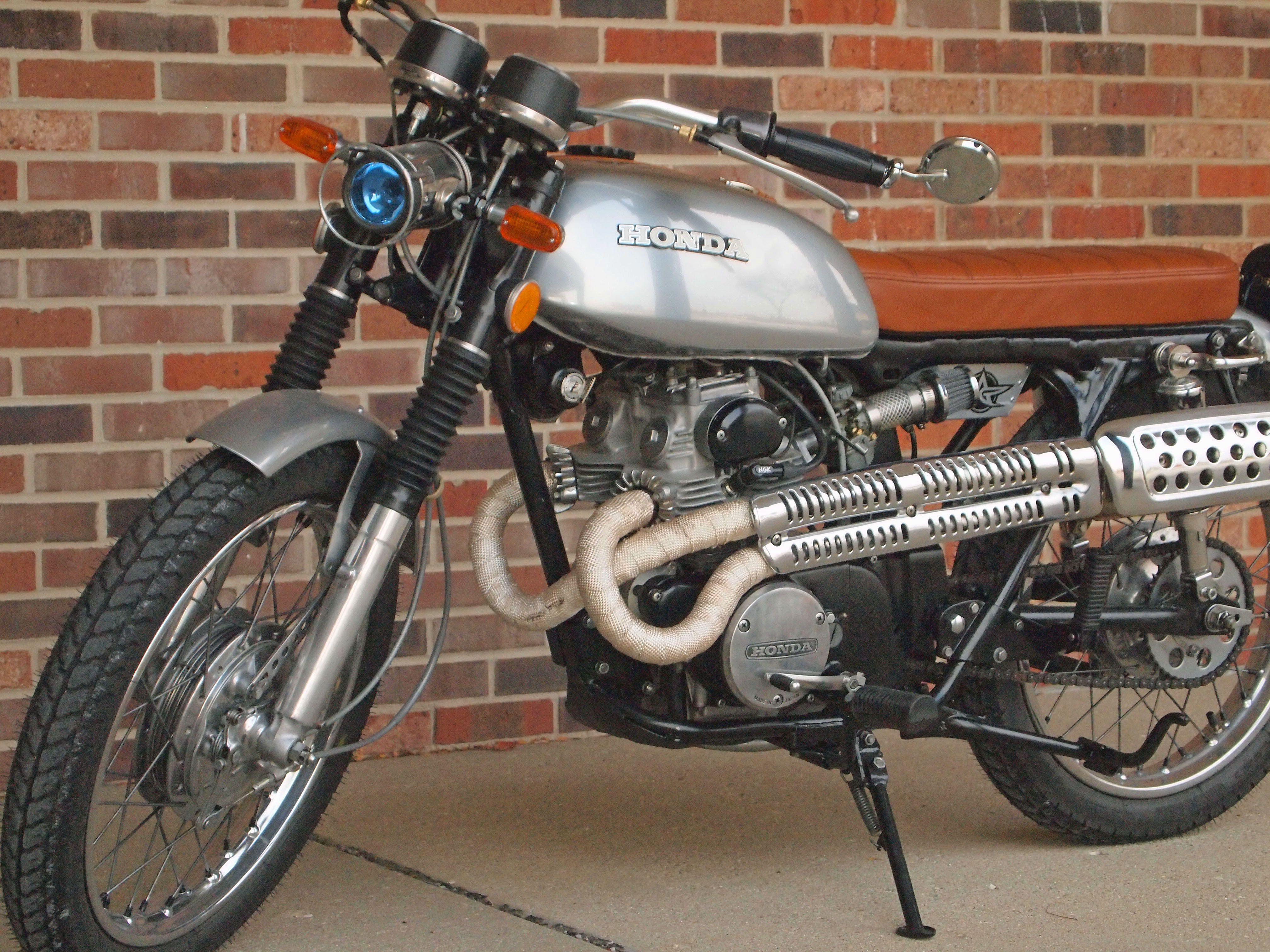 1973 Honda Cl175 Little Patina Analog Motorcycles Motorcycle Honda Scrambler Honda [ 3024 x 4032 Pixel ]