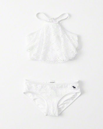 17b0c2ac5a496 kids High Neck Two-Piece Swimsuit. kids High Neck Two-Piece Swimsuit  Swimsuits For ...