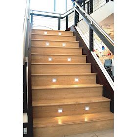 Great 20 Creative And Modern Staircase Lighting Designs (20) 10