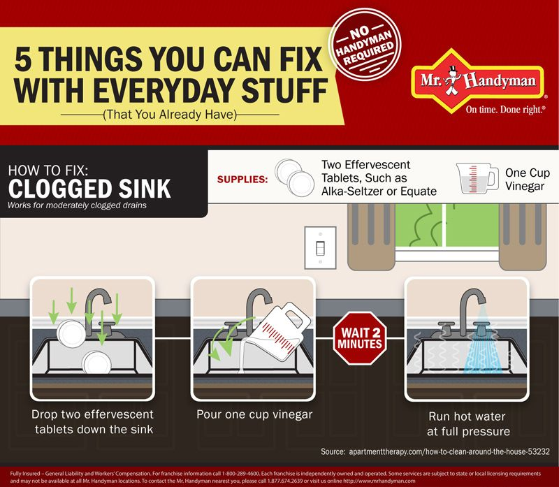 DIY Tips for Your Kitchen and Bathroom | Mr. Handyman Infographics ...