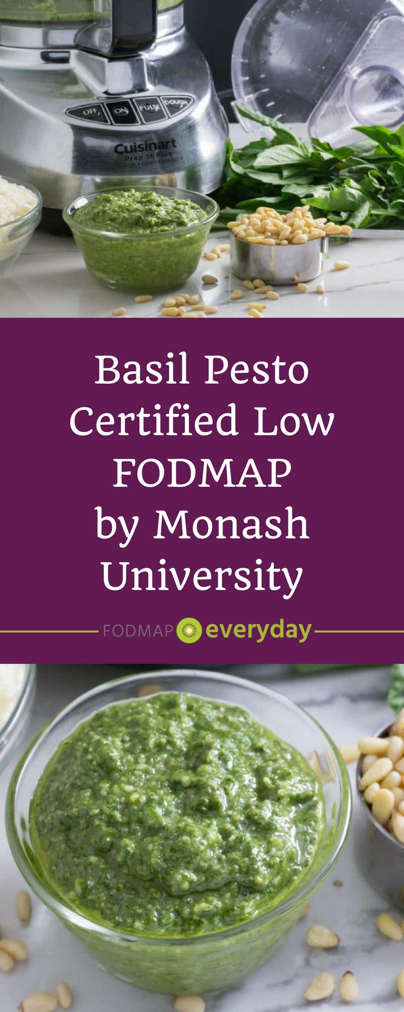 Low FODMAP Basil Pesto images