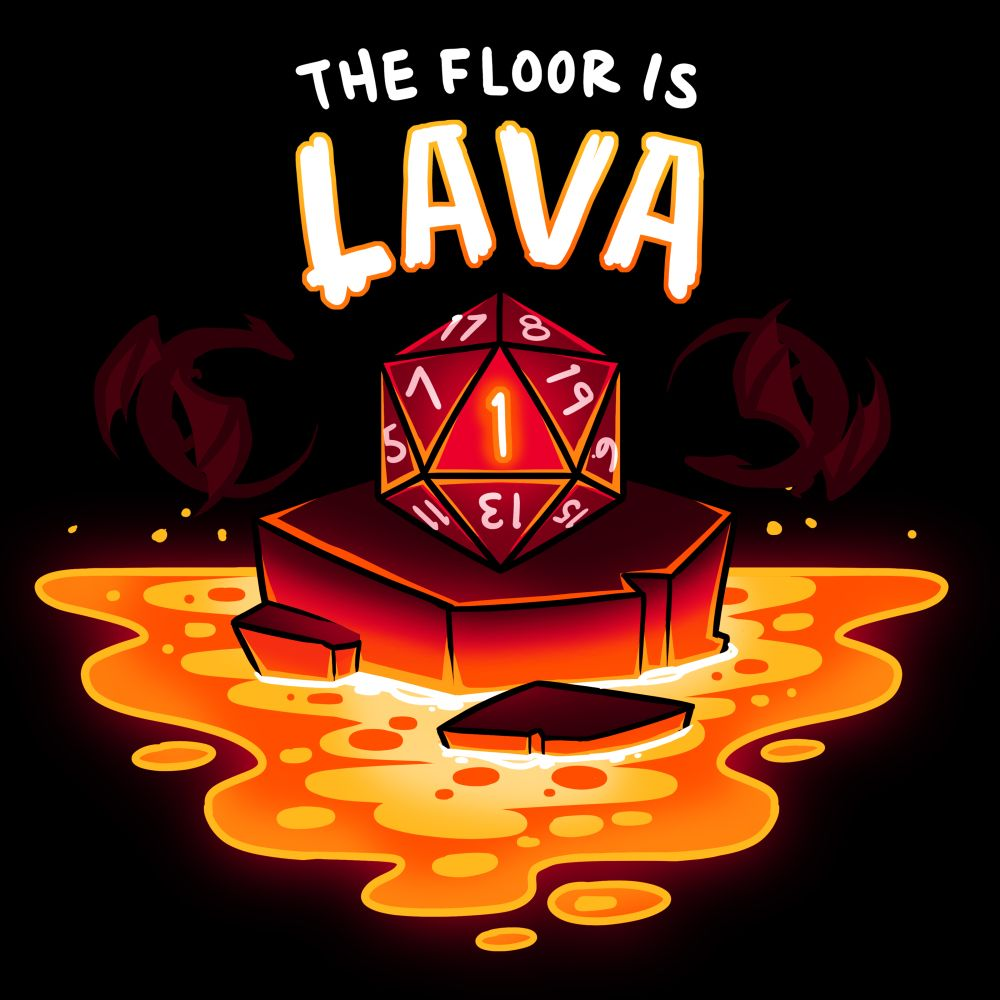 The Floor Is Lava T Shirt Mens 3xl Things That Make Me In