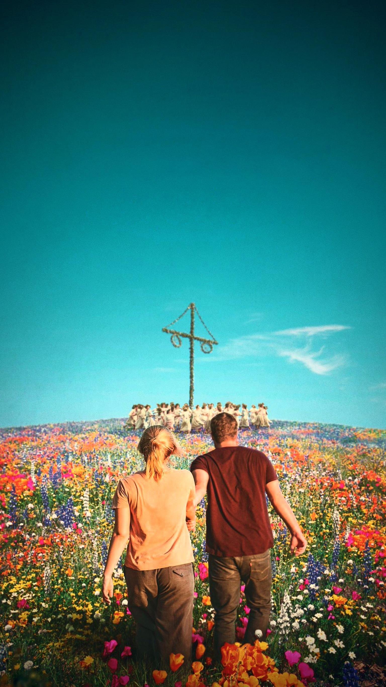 Midsommar 2019 Phone Wallpaper Moviemania Movies Movie Wallpapers Sweden Travel