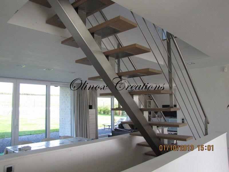 Escalier Intérieur Design Et Moderne - Création Sur Mesure