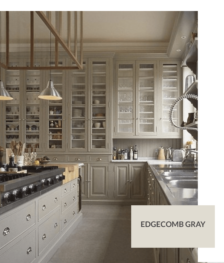 Benjamin Moore Colors For Kitchen: Top 10 Gray Cabinet Paint Colors