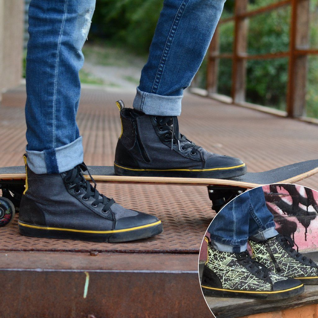 Pin by Zapped Outfitters on REFLECTIVE GEAR High tops