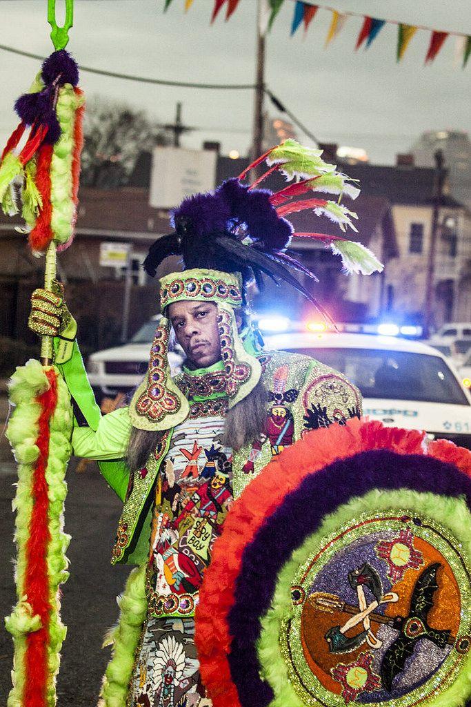 Photos: Mardi Gras Indians on St. Joseph's Day 2015