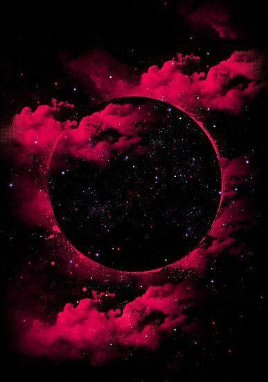 Black Hole Photographic Print