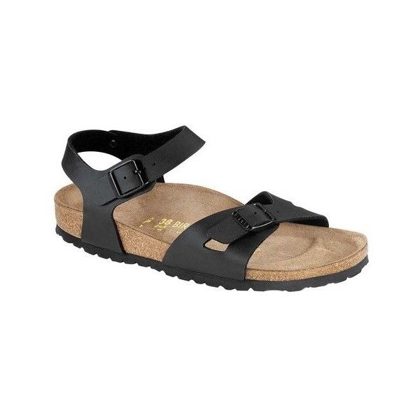 73ba77a6fb6f Women s Birkenstock Rio Quarter Strap Sandal ( 100) ❤ liked on Polyvore  featuring shoes