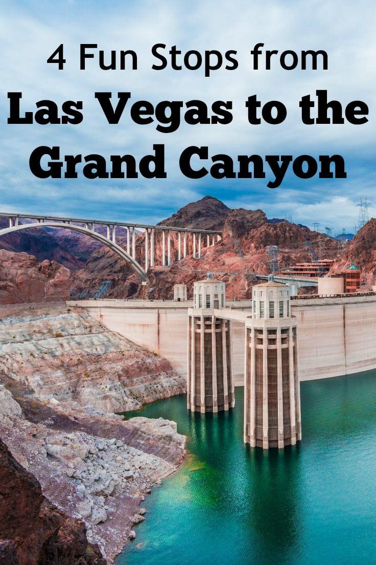 4 Roadside Stops Between Las Vegas And The Grand Canyon Las Vegas Itinerary Las Vegas Trip Vegas Trip
