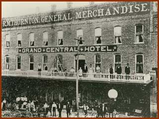 Grand Central Hotel in the 1880s.