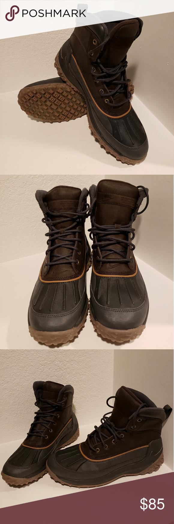 7a92dc00bf2 Nike Kynwood Boot Anthracite/Dark Gold Leaf sz 8.5 Nike Kynwood Boot ...