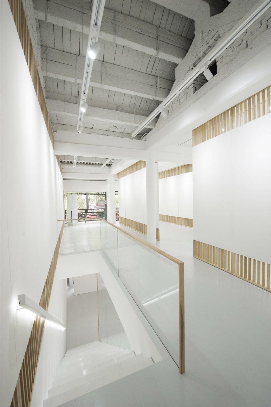 Rongbaozhai Western Art Gallery par Arch studio