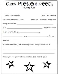 Essays for student council elections
