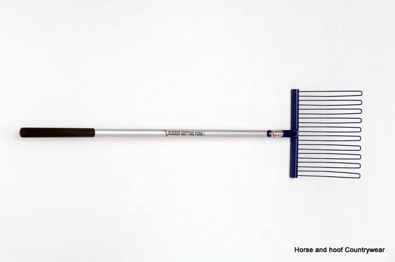 Fyna Lite Rubber Matting Fork Long Handle 120 cm