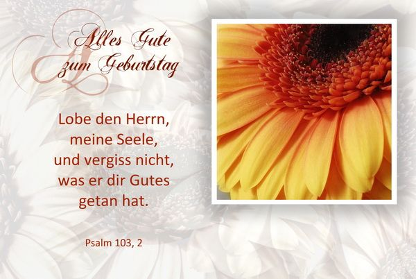 Mullers Design Foto Klappkarten Mit Bibelspruch Gottes Segen