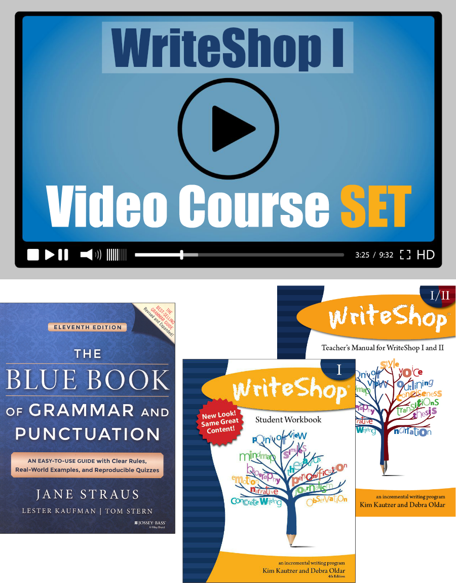 Workbooks grammar and punctuation workbook : I Video Course SET | Punctuation, Teacher and Students