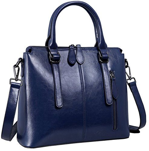 e7b4e635f77d Heshe Womens Leather Shoulder Handbags Tote Top Handle Bags Crossbody  Handbag and Satchel and Purse for Ladies