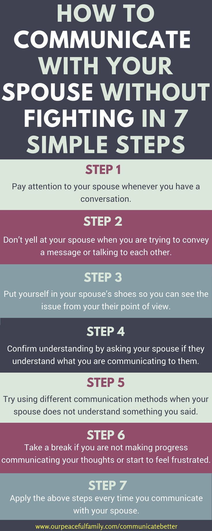 Ways to communicate better with your spouse