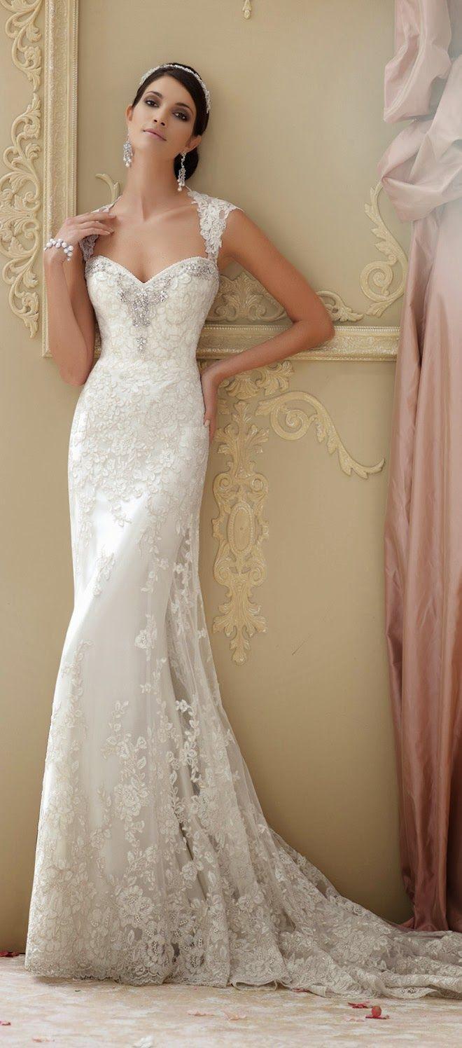 David Tutera for Mon Cheri Spring 2015 Bridal Collection | Wedding ...