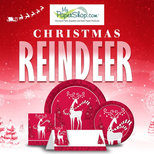 Christmas Reindeer Party Supplies