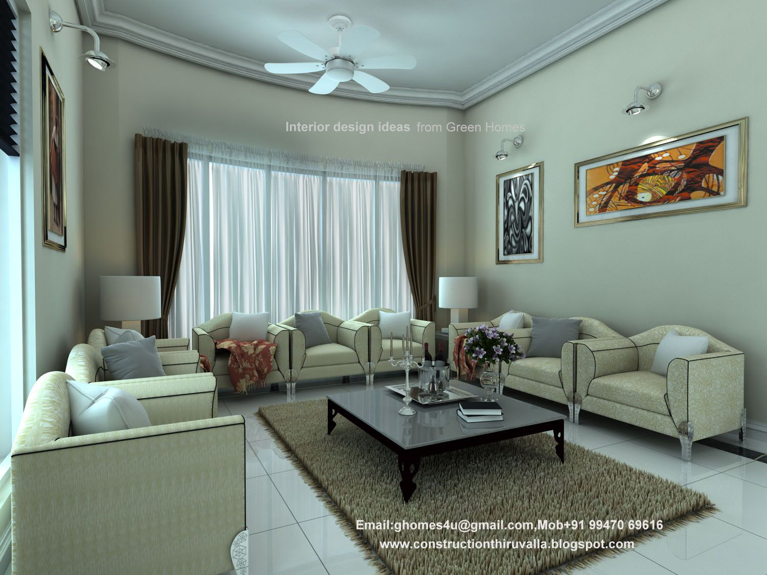 Plans kerala style interior home kerala style home for Kerala interior designs