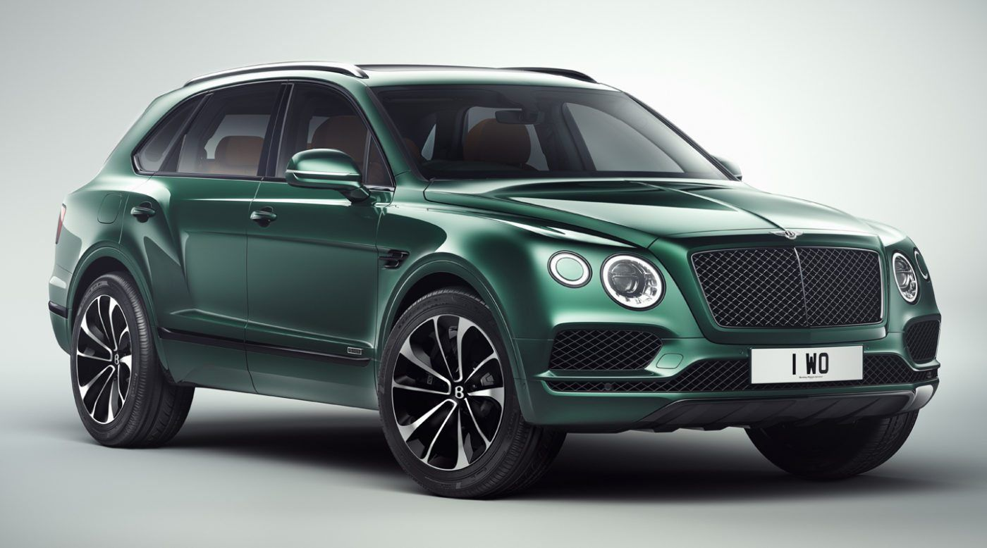 "Bentley Bentayga Mulliner ""Inspired by the Sport of Kings"