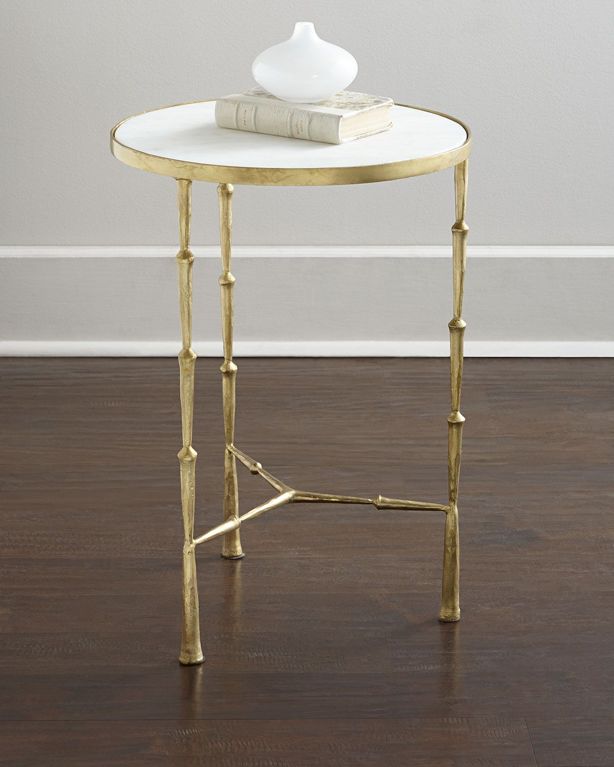 Camden side table gold
