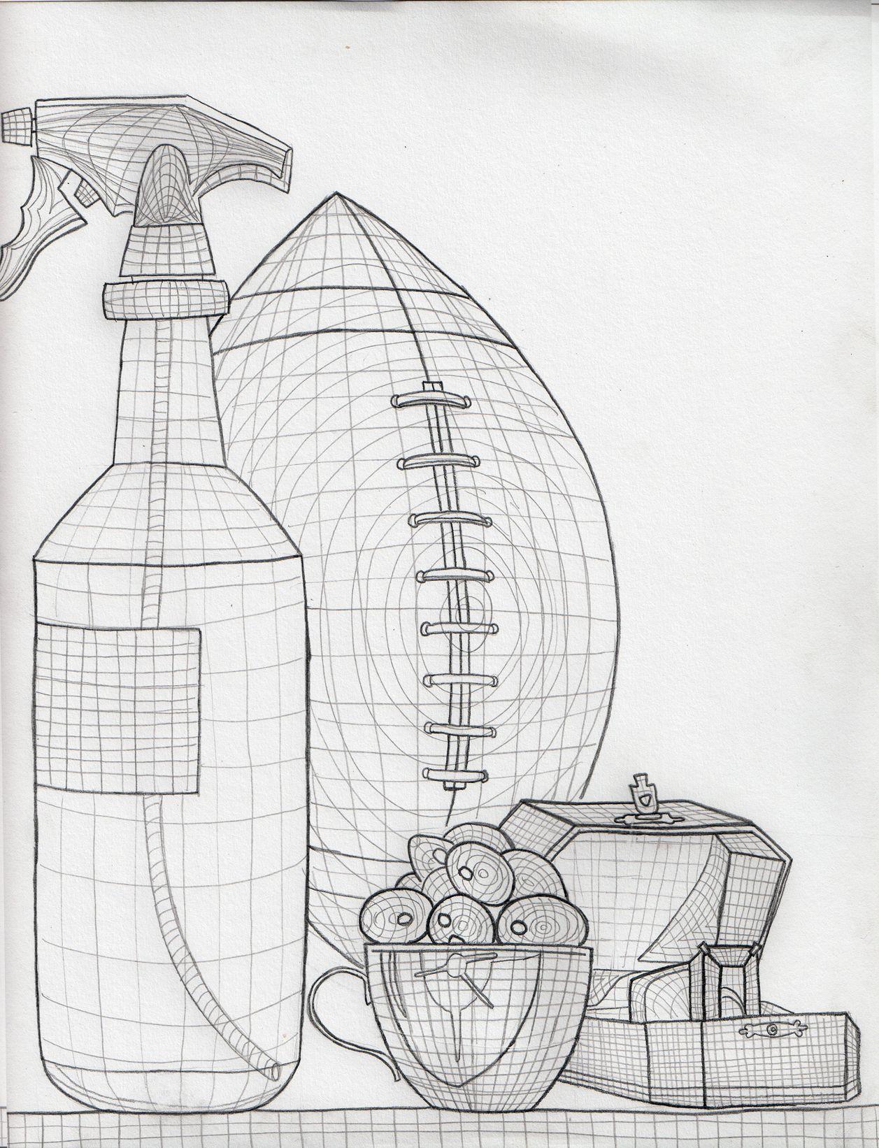 Cross Contour Drawing