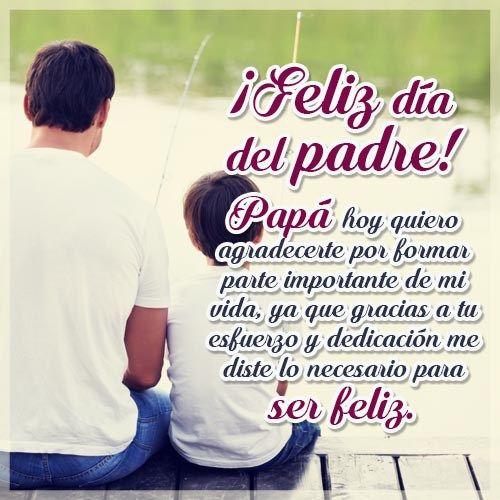 Imagenes Con Mensajes Para El Dia Del Padre Para Facebook