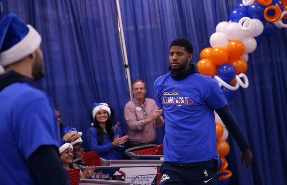 Thunder provides a Holiday Assist for the 11th year
