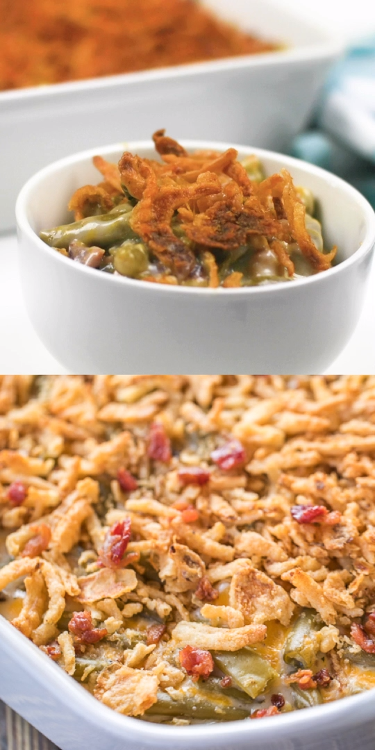 Photo of Cracked Out Green Bean Casserole Recipe