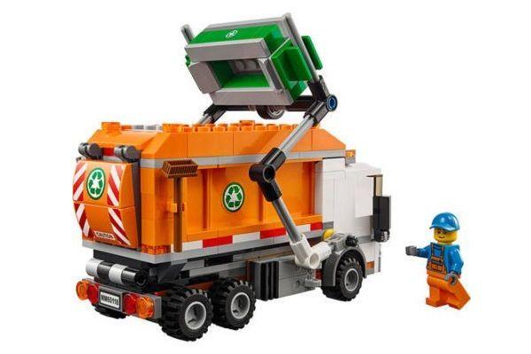 Lego City Garbage Truck 60118 Lego Building Set Garbage Truck Toy Trucks Lego City